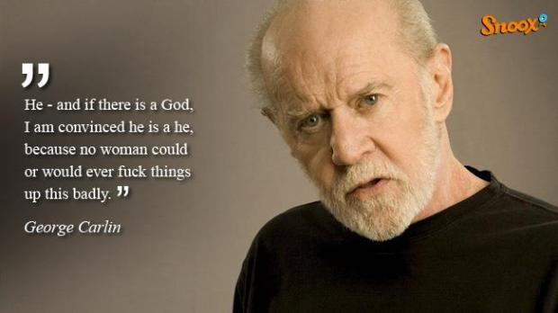 george carlin god