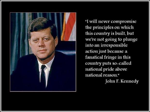 JFK on reason