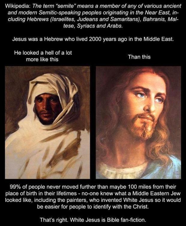 white jesus fan fiction