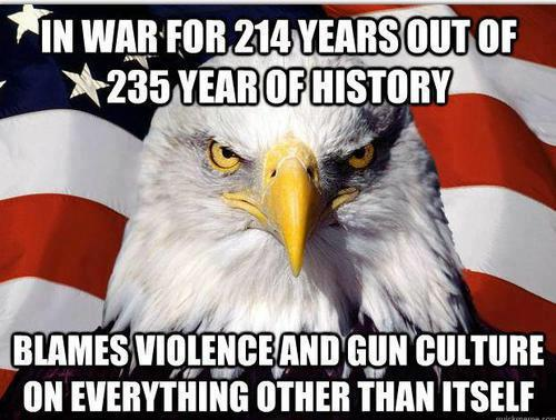 in war for 214 years out of its 235 yea existence