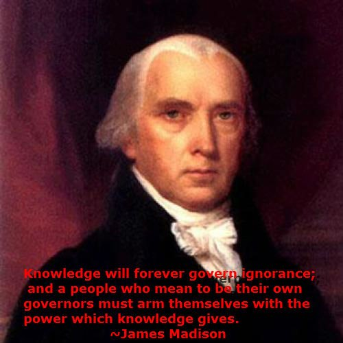 knowledge governs ignorance