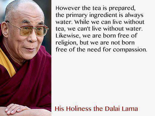 water religion dalai lama