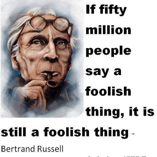foolish things